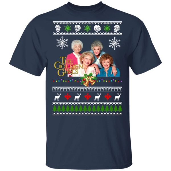 The Golden Girls Ugly Christmas Sweater, Hoodie