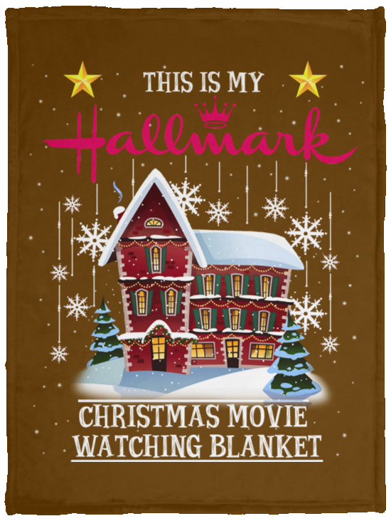 Hallmark Christmas Movie Fleece Blankets, Cozy Plush Fleece, Sherpa Blanket