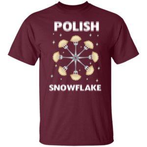 Polish Pierogi Snowflake Shirt, Hoodie, Long Sleeve