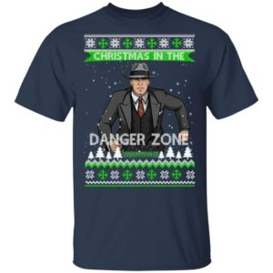 ARCHER CHRISTMAS IN THE DANGER ZONE UGLY CHRISTMAS SWEATER, HOODIE, LONG SLEEVE