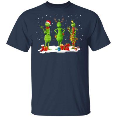 Three Grinch Noel Merry Christmas Sweatshirt Hoodie