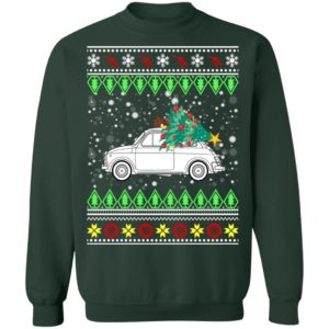 Fiat 500 Ugly Christmas Sweater, Hoodie