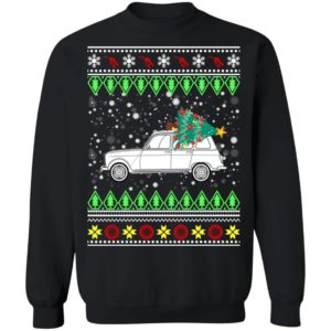 Renault 4L 'Quatrelle' Ugly Christmas Sweater