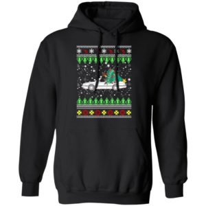 Saab 900 convertible Ugly Christmas Sweater