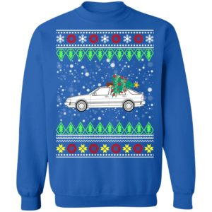 Saab 9000 Classic Car Ugly Christmas Sweater, Hoodie