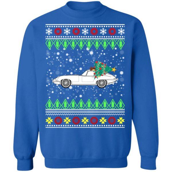Jagur E-Type Classic Car Ugly Christmas Sweater