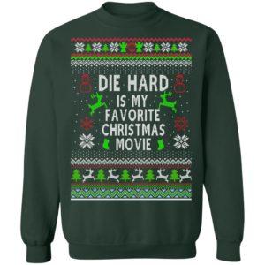 Die Hard Is My Favorite Movie Ugly Christmas Sweater