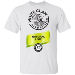 White Claw Hard seltzer Natural Lime Shirt, Long Sleeve, Hoodie