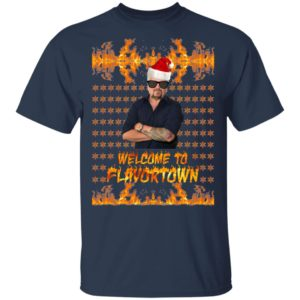 Welcome to Flavortown Guy Fieri Ugly Christmas Sweater