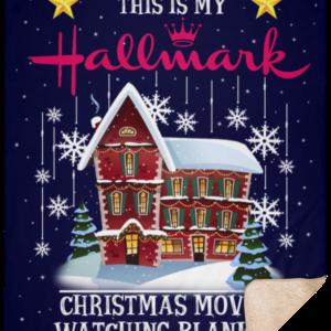 Hallmark Christmas Movie Fleece Blankets, Cozy Plush Fleece, Sherpa Blanket