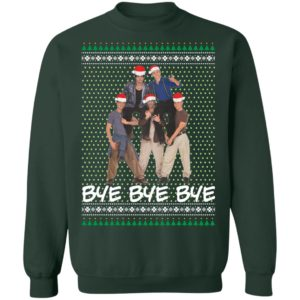 Nsync Band Bye Bye Bye Ugly Christmas Sweater