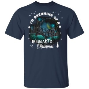 Harry Potter Christmas Sweatshirt I'm Dreaming Of A Hogwarts Christmas Long Sleeve, Hoodie