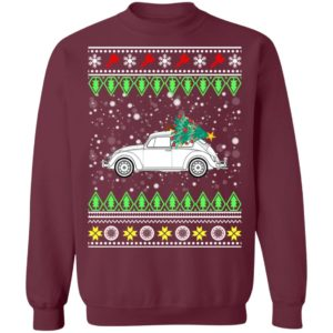 Beetle Classic Car Ugly Christmas Sweatshirt