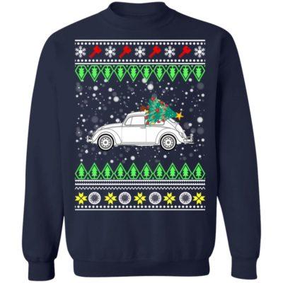 Beetle Classic Car Ugly Christmas Sweatshirt