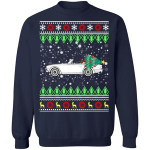 Triumph TR6 Classic Car Ugly Christmas Sweater