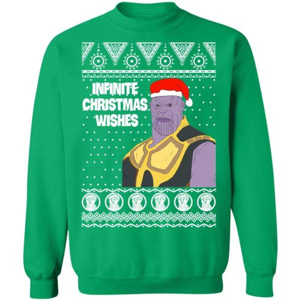 Thanos Infinite Christmas Wishes Marvel Avengers Ugly Sweatshirt, Hoodie, Long Sleeve