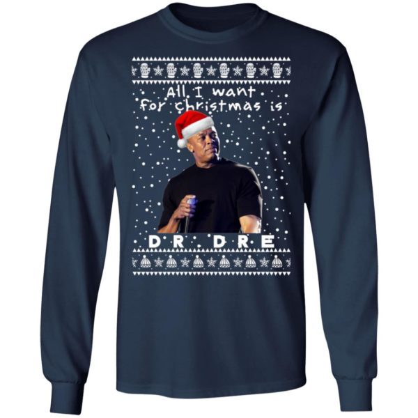 Dr.Dre Rapper Ugly Christmas Sweater, Long Sleeve, Hoodie