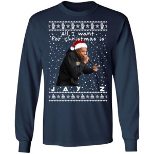 Jay-Z Rapper Ugly Christmas Sweater, Long Sleeve, Hoodie