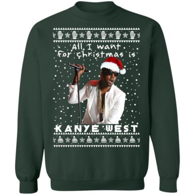 Kanye West Rapper Ugly Christmas Sweater, Hoodie