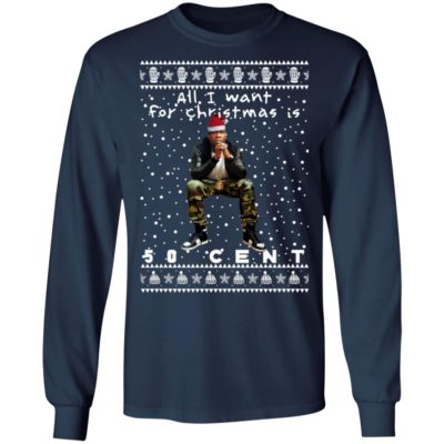 50 Cent Rapper Ugly Christmas Sweater
