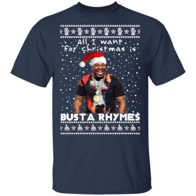Busta Rhymes Rapper Ugly Christmas Sweater, Long Sleeve, Hoodie