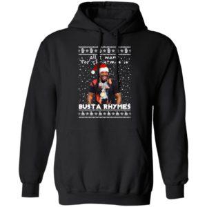 Busta Rhymes Rapper Ugly Christmas Sweater, Long Sleeve, Hoodie