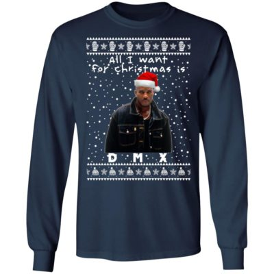 DMX Rapper Ugly Christmas Sweater, Long Sleeve, Hoodie