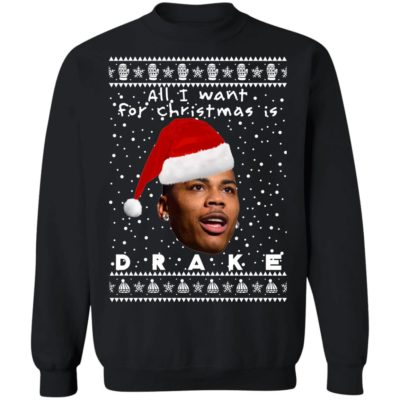 Drake Rapper Ugly Christmas Sweater, Long Sleeve, Hoodie