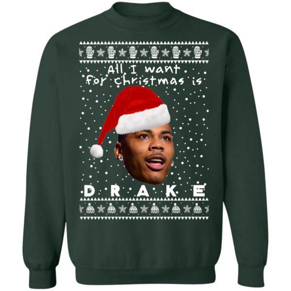 Drake Rapper Ugly Christmas Sweater, Long Sleeve, Hoodie