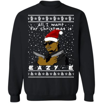 Eazy-E Rapper Ugly Christmas Sweater, Long Sleeve, hoodie