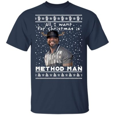 Method Man Rapper Ugly Christmas Sweater