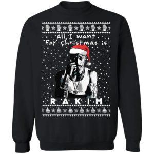 Rakim Rapper Ugly Christmas Sweater, Long Sleeve, Hoodie