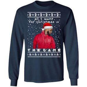 The Game Rapper Ugly Christmas Sweater, Long Sleeve, Hoodie