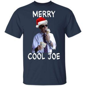 President 2020 Joe Biden Eating an Ice Cream Cone with two $10 Christmas Shirt, Long Sleeve, Hoodie