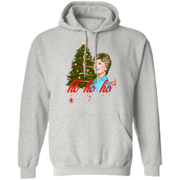 Golden Girl Blanche HO HO HO Christmas Sweatshirt Hoodie, Long Sleeve