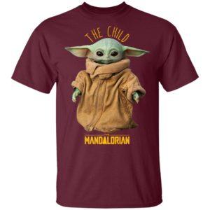 Baby Yoda The Mandalorian The Child Shirt, Long Sleeve, Hoodie