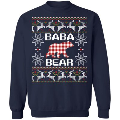 Baba Chinese Bear Ugly Christmas Sweater, Shirt, Hoodie
