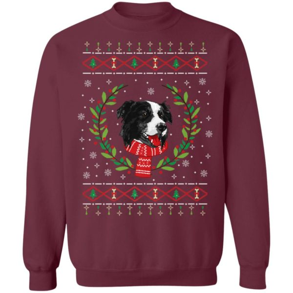 Border Collie Ugly Christmas Jumper T-Shirt, Sweater, Hoodie