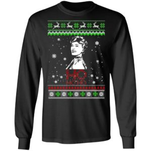 The Golden Girls Blanche Ho Ho Ho Ugly Christmas Sweater, Shirt, Hoodie
