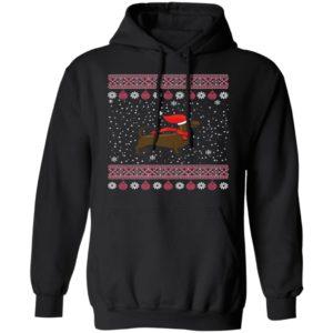 Dachshund Lover Ugly Christmas Sweater, Long Sleeve, Hoodie