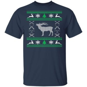 Funny Hunting Lover Ugly Christmas Sweatshirt