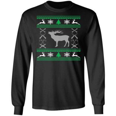 Funny Hunting Lover Ugly Christmas Sweatshirt