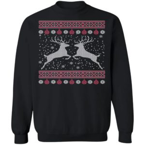 Funny Mens Hunting Lover Ugly Christmas Sweatshirt, long Sleeve, Hoodie