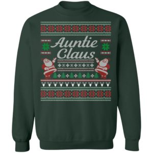 Auntie Claus Ugly Christmas Sweater