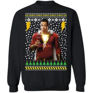 Shazam Ugly Christmas Sweater