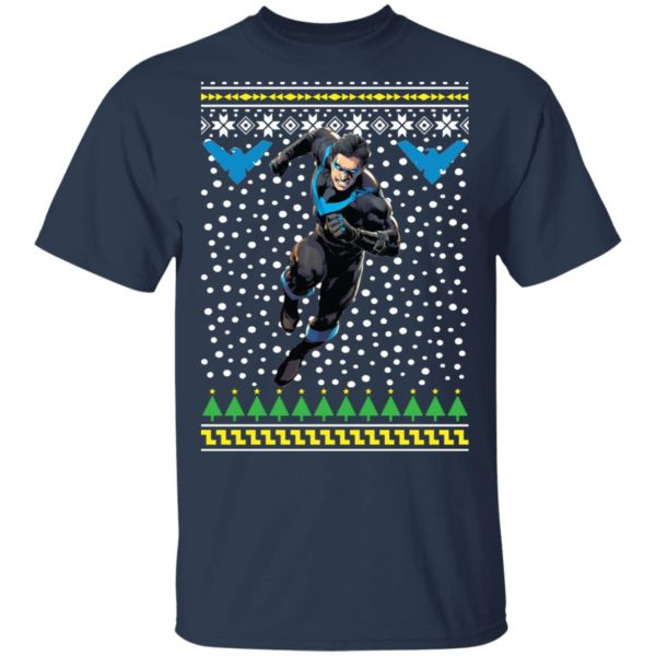 Nightwing Dick Grayson Ugly Christmas Sweater