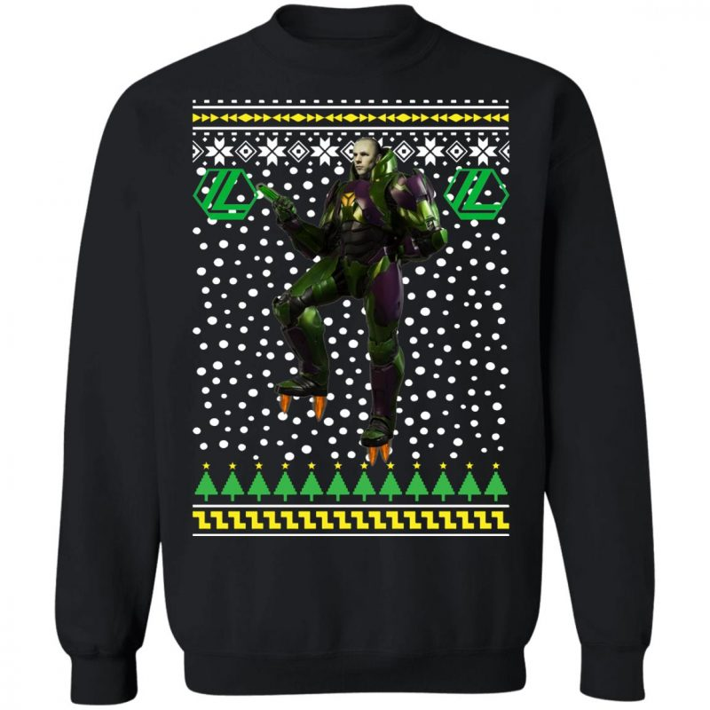 Lex Luthor Ugly Christmas Sweater