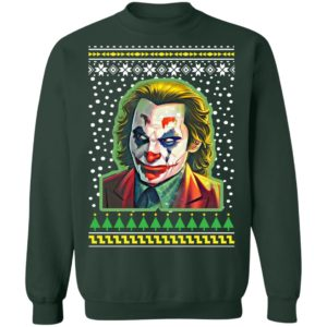 Joker Joaquin Phoenix Ugly Christmas Sweater