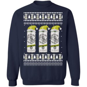 Natural Lime White Claw Hard Seltzer Ugly Christmas Sweater