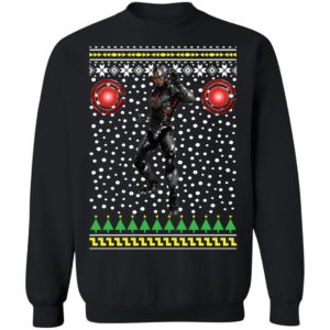 Cyborg Ugly Christmas Sweater